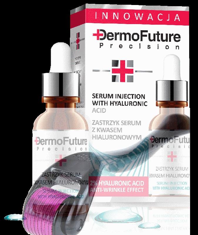 MNS Dermaroller 540 needles, titanium 0,5mm + Dermofuture