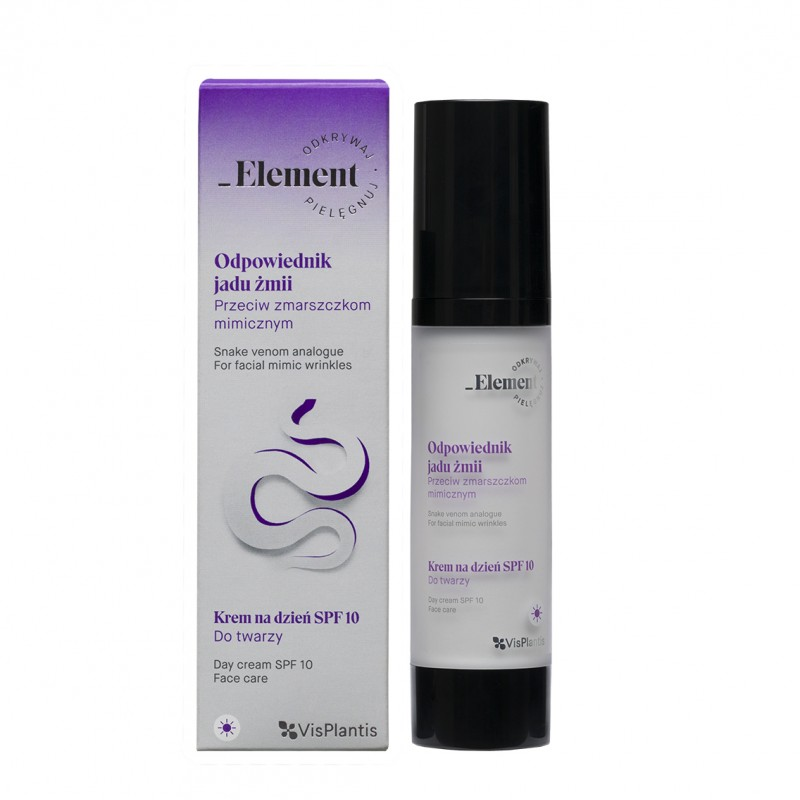 ELEMENT Snake venom analogue For facial mimic wrinkles Night cream