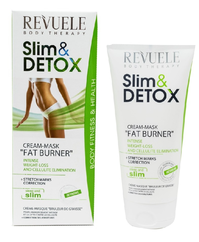 86a860f63f9 Revuele Slim   Detox Fat Burner Cream-Mask 200ml   Revuele    Kauneusmaailma.fi