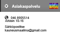 kauneusmaailma.fi contact