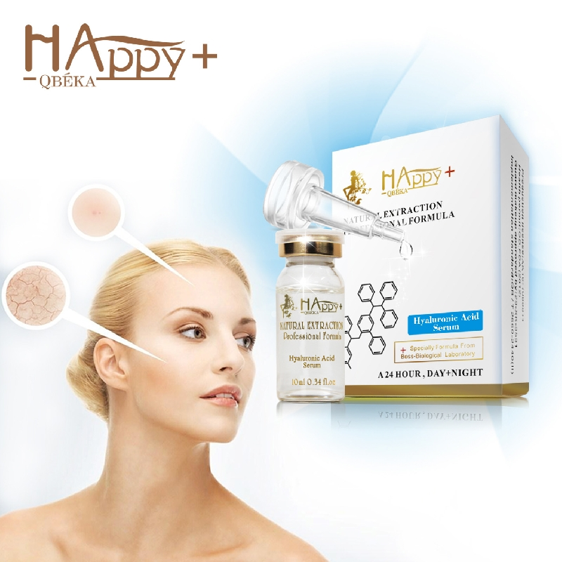 Hyaluronic acid is a kind of polysaccharide with high