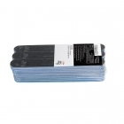 Pack 30 2-way nail files 180/180, black
