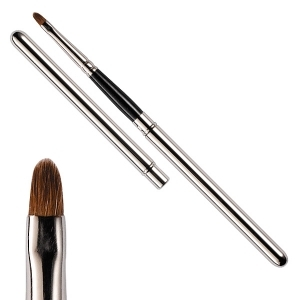 Retractable lip brush - Sable hair