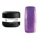 Coloured UV nail gel scintillant violet 5g