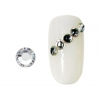 20 rhinestones for nails argent SS10