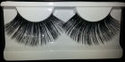 Fantasy eyelashes black and silver