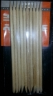 Orange Wood Stick 10 pcs