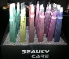 Tweezers metallic colour 24 pcs