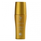 Spray beautifying body oil low protection SPF10