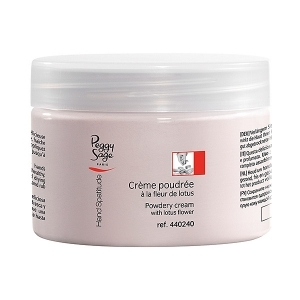 Powdery cream with lotus flower 150 ml