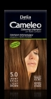 5.0 LIGHT BROWN - Shampoo coloring Cameleo