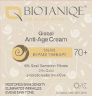 Biotaniqe 70+ Snail Global Anti-Age Cream day/night 50 ml