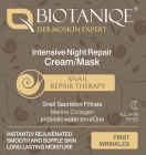 Biotaniqe 30-40+ Snail Intensive Night Repair Cream/Mask 50ml