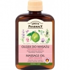 Green Pharmacy Massage Oil anti-cellulite cypress, juniper, lavender and lime oils 200ml