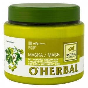 OHerbal Mask for curly and unruly hair with hops extract 500ml