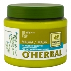 O'Herbal Mask for dry and damaged hair with flax extract 500ml