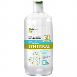 O Herbal Micellar solution for dry skin with flax extract 500ml