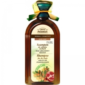 Green Pharmacy - Shampoo for dry hair Argan oil and Pomegranate 350ml