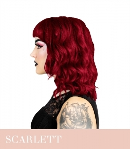 Hermans Amazing Scarlett Rogue Red