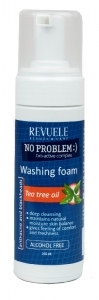 Revuele No Problem Washing Foam Anti-Acne & Blackheads with Tea Tree Oil 150ml