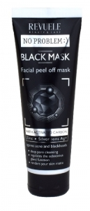 Revuele No Problem Black Mask peel off kasvonaamio 80ml