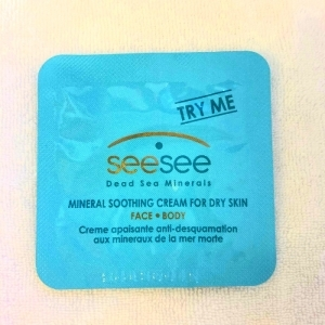 (SAMPLE) Mineral soothing cream for dry skin face and body