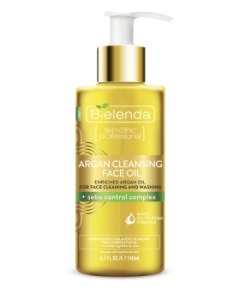 Bielenda Argan cleansing oil with sebum control complex 140ml