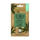 Bielenda CBD Cannabidiol Moisturizing and soothing mask from CBD with hemp seed dry / sensitive skin 8g