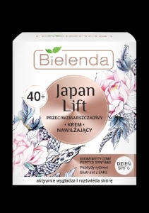 Bielenda JAPAN LIFT kosteuttava anti-wrinkle päivävoide 40+ SPF 6 50ml