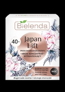 Bielenda JAPAN LIFT silottava anti-wrinkle yövoide 40+ 50ml