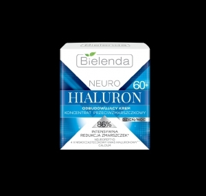 Bielenda NEURO HIALURON Rebuilding cream - anti-wrinkle concentrate 60+ day/night 50ml