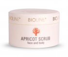 Bioline Apricot scrub face & body 200ml